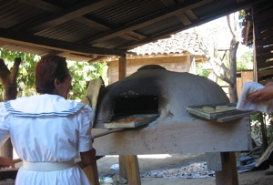 guanacaste traditional bread making in tempate