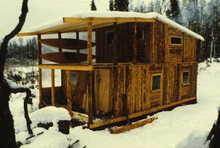 Sue-Doherty-oral-history-Alaksa-cabin-building